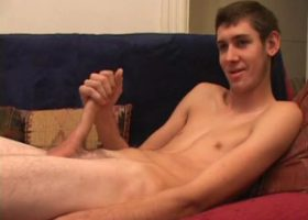 Amateur Mac Wood Jacking Off