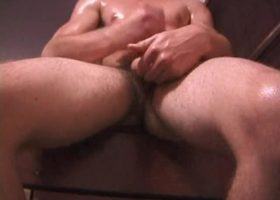 Amateur Trevor Jerking Off