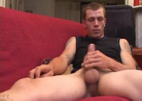 Amateur Shane Stroking His Meat