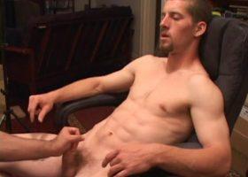 Young Adam Enjoys A Hand Job