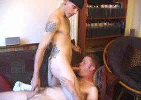 Shane and Nate Sucking Cock
