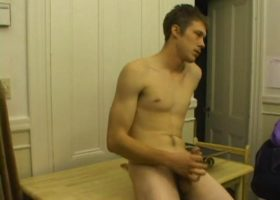 Brent Stenson Jacking Off