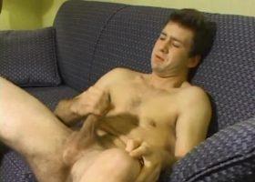 Donovan Woodside Stroking Dick
