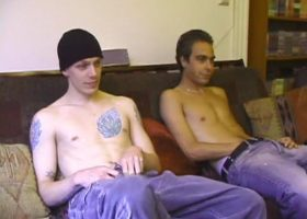 Amateurs Shane and Vincenzo Suck Dick