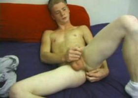 Amateur Red Dildo Jacking