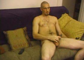 Donovan Stroking Cock