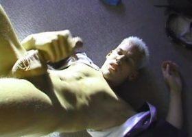 Blond Twink Markie Stroking