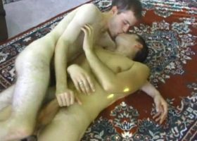 Nate, Dillon and Anthony Threesome