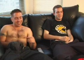 Str8 Boys Johnny and Nate Sucking Dick