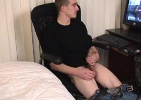 Amateur Darrell Jerking Off
