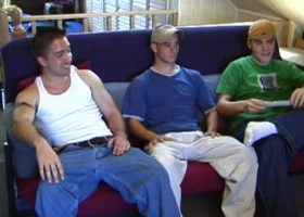 Straight Boys Curious Gay Threesome