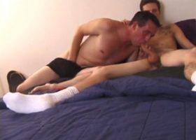 Allen and Seth Sucking Cock