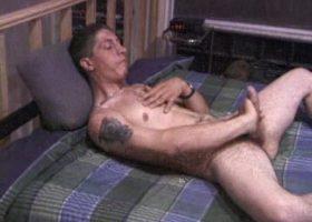 Dakota Beating His Meat