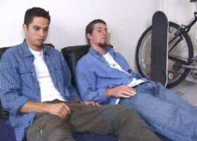 Anthony and Adam Suck Dick