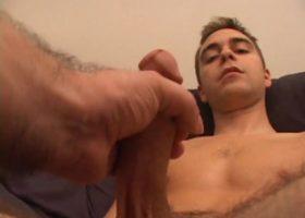 Vincenzo Enjoys A Handjob