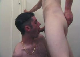Tag and Roar Sucking Cock