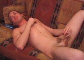 Horny Austin Jerking Off