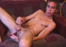 Vincenzo Strokes With Sex Toy