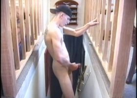 Shane Strokes His Meat