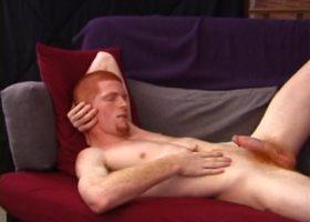 Redhead Tistian Jacking Off