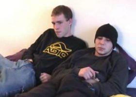 Str8 Nate and Bradley Suck Dick